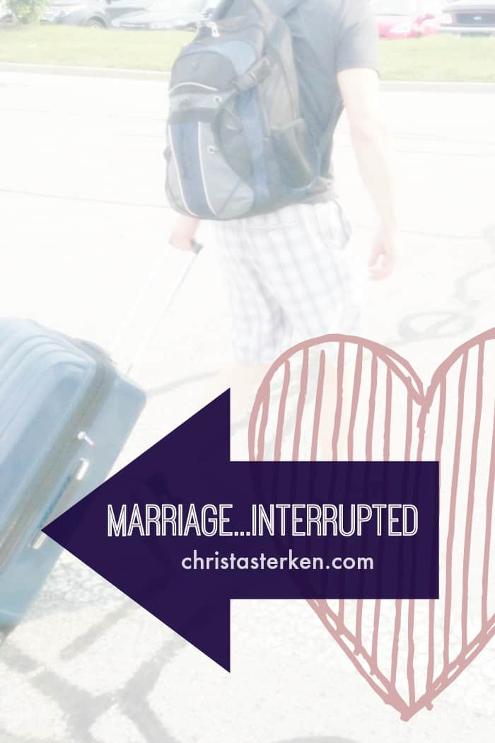 marriage interrupted essay