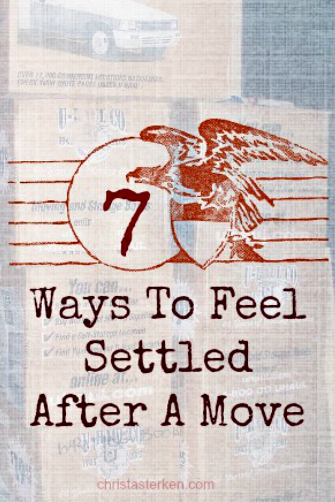 7 Ways To Feel Settled After A Move