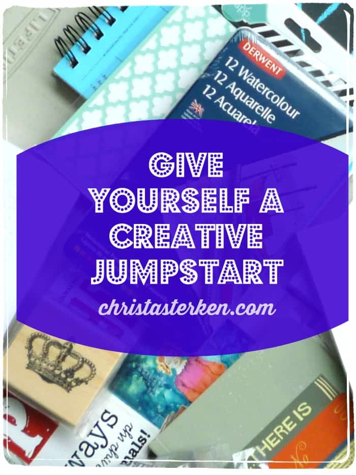 Give Yourself A Creative Jumpstart www.christasterken.com