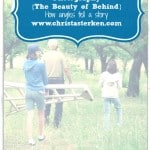 Photography {The Beauty of Behind}