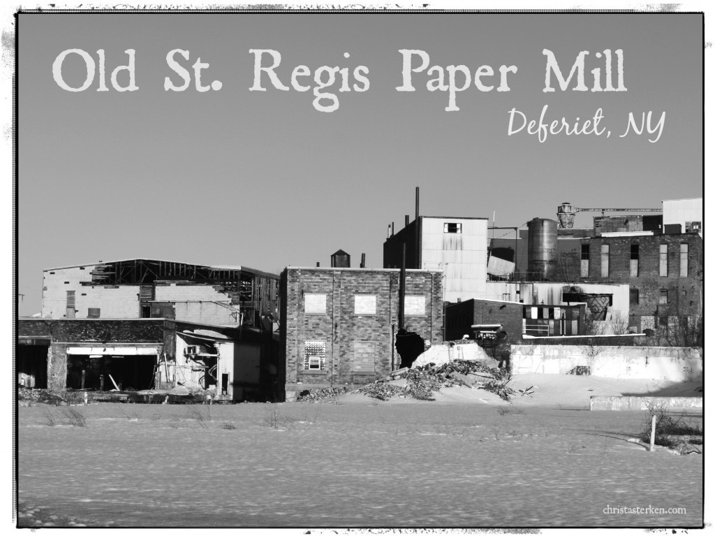 Abandoned Photography {St. Regis Paper Company} And The Town Mayor