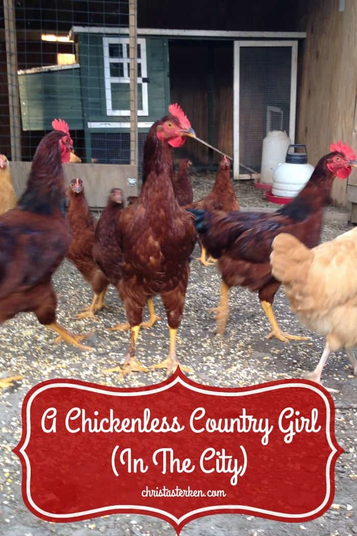 c0e40477181a A Chickenless Country Girl (In The City)