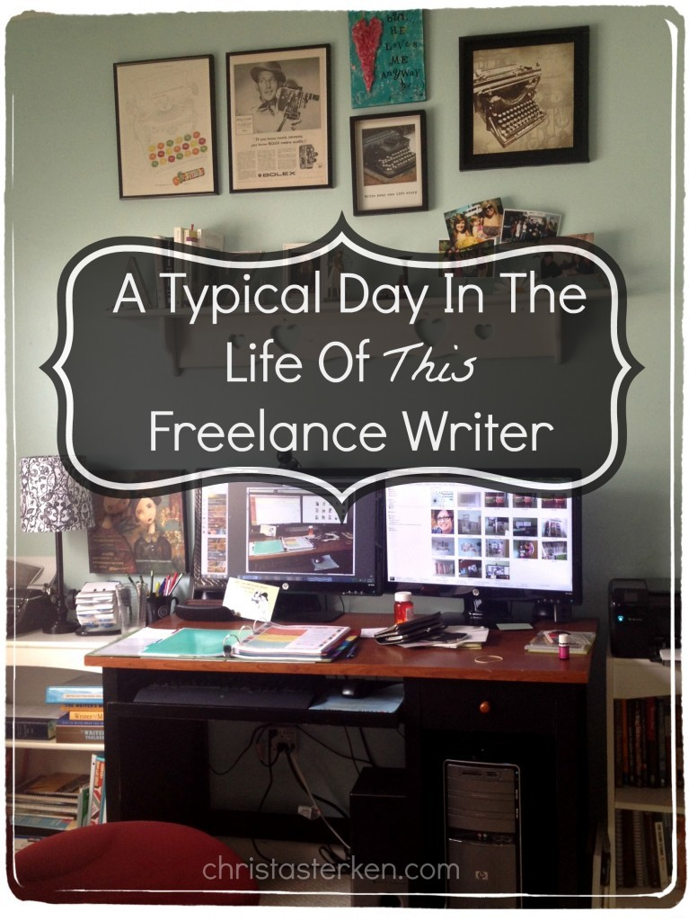 A Day In The Life Of A Freelance Writer