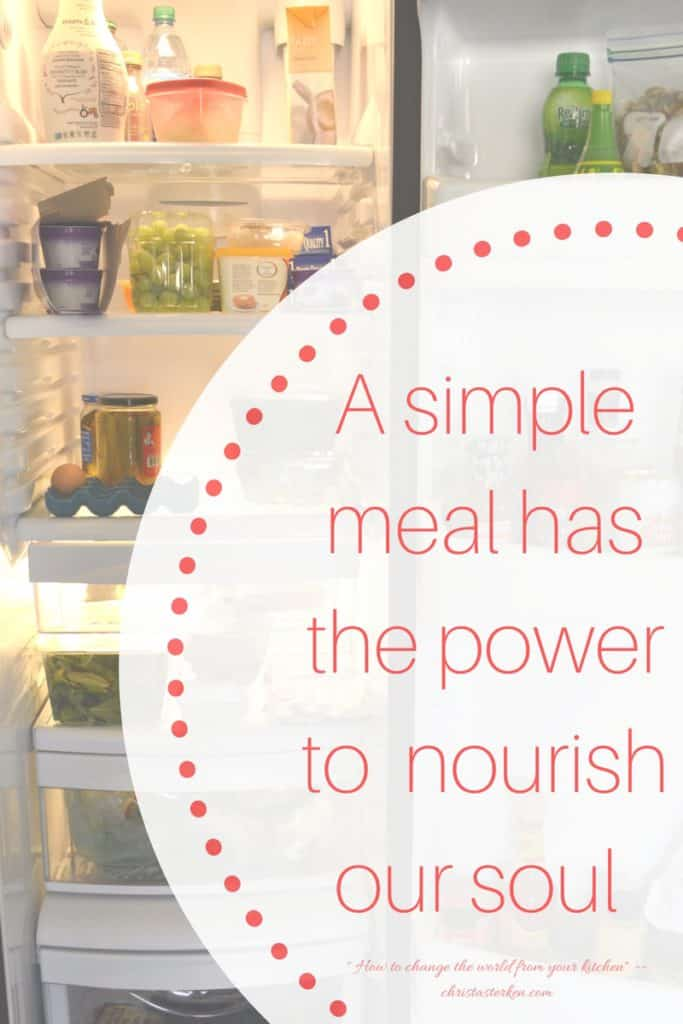 How To Change The World From Your Kitchen- the powerful effect of simple hospitality