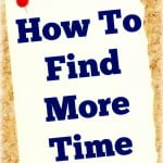 How To Find More TIme