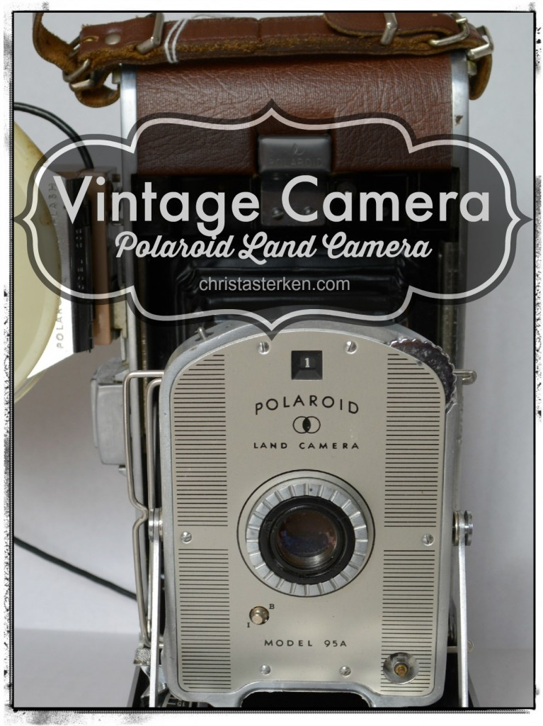 Photography {Vintage Polaroid Camera}