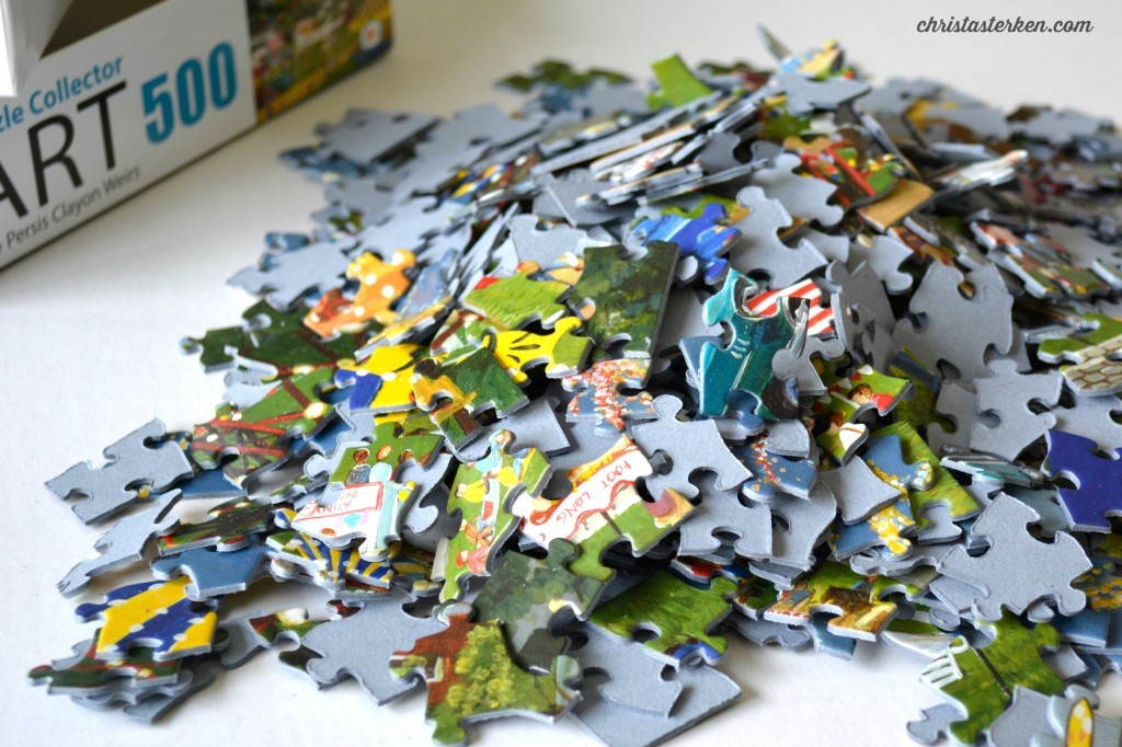 We Are Beautiful Scattered Puzzles Christasterken
