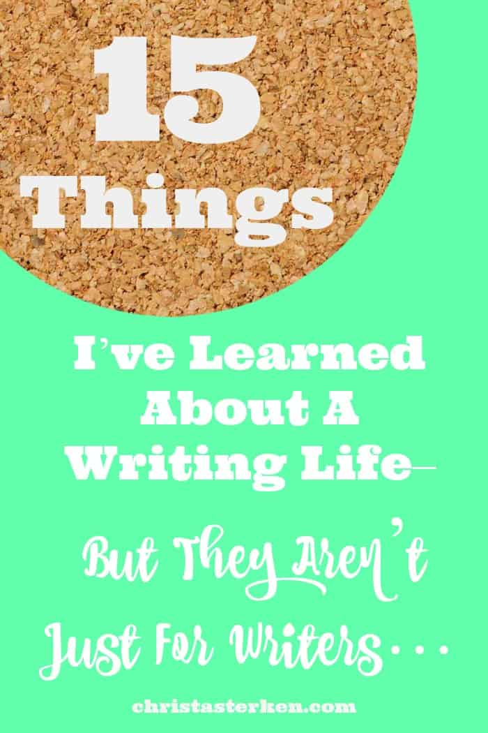 10 Important Things I've Learned About Writing