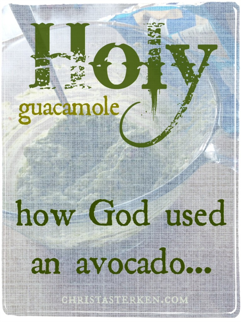 Holy Guacamole! How God Used An Avocado…