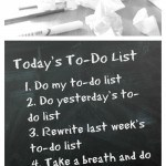 "What REALLY should be on my ""to-do"" list today"