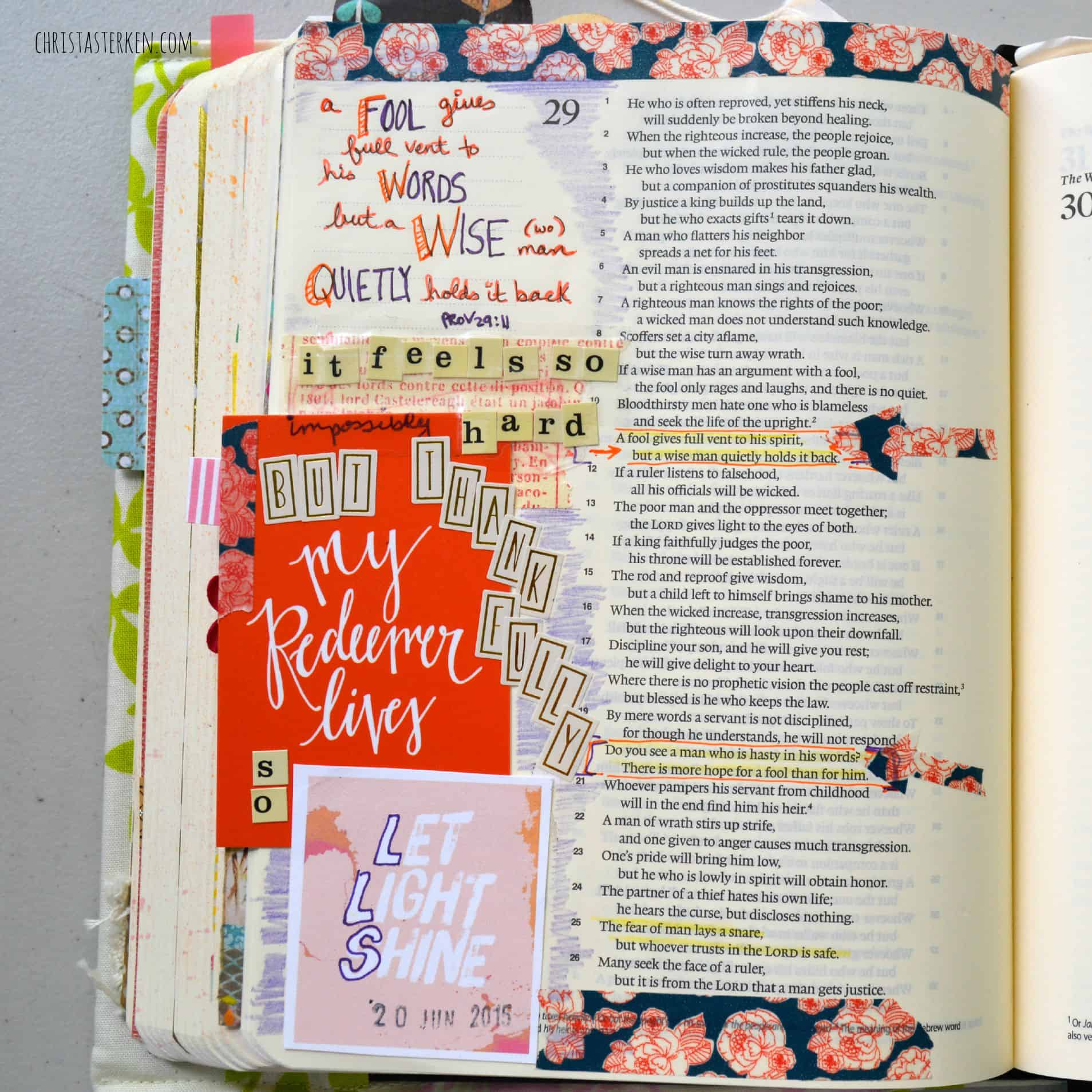Bible Journaling For The Beginner With Easy To Follow