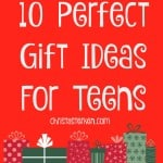 10 Perfect Gift Ideas For Teens