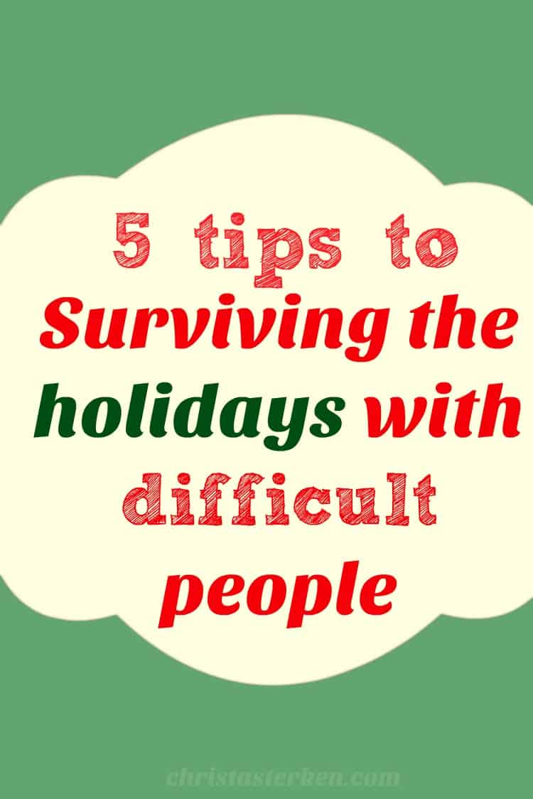 5 Tips To Make Small Space Bathroom Look Bigger: 5 Tips To Surviving The Holidays With Difficult People