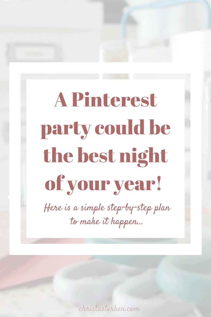 A Pinterest party could be the best night of your year! Here is how to make it happen...